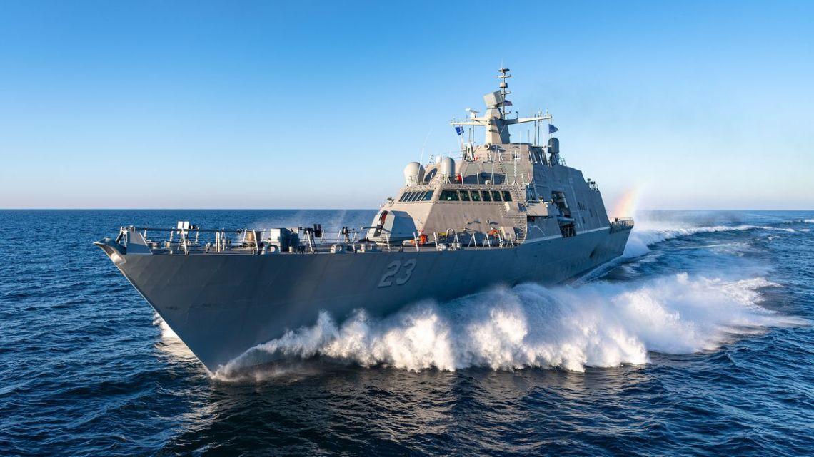 US Navy USS Cooperstown (LCS 23)