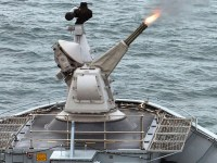 Goalkeeper close-in weapon system (CIWS)