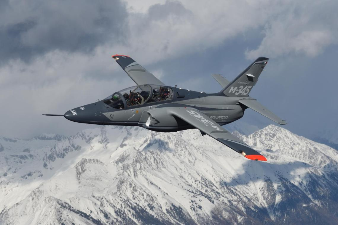 Aermacchi M-345 Military Trainer Aircraft