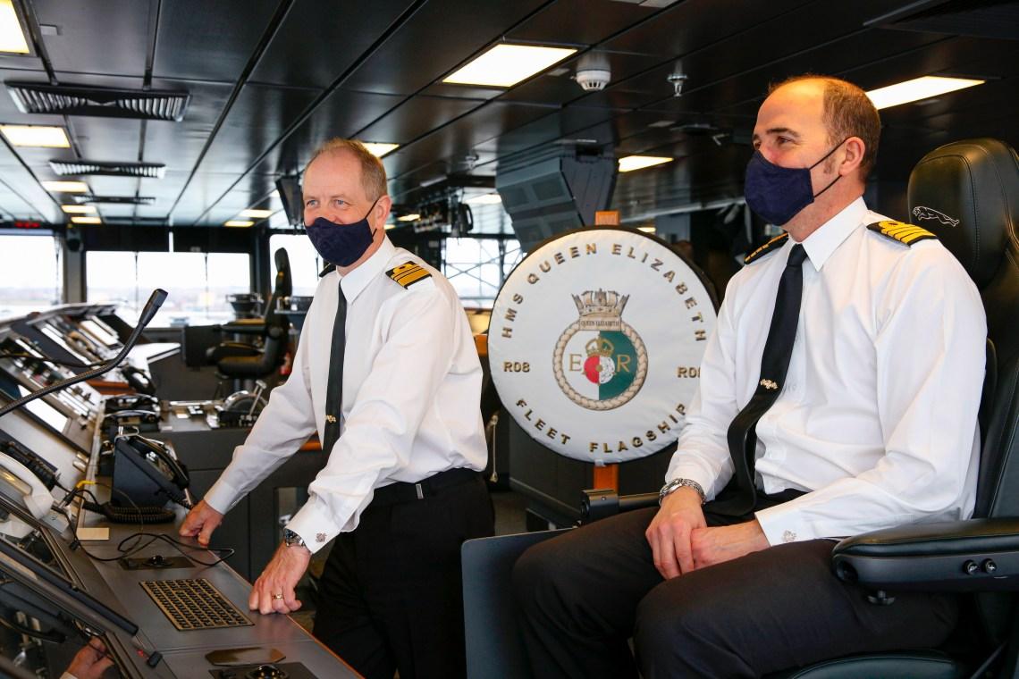 Aircraft Carrier HMS Queen Elizabeth (R08) Assumes Role as New Royal Navy Fleet Flagship