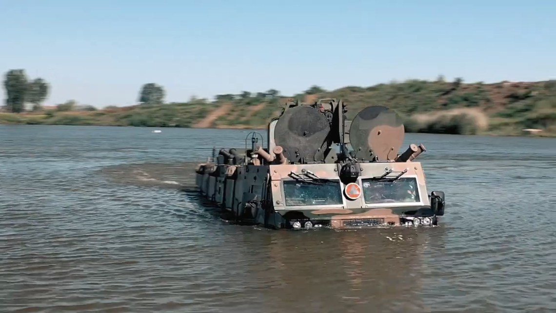 AMZ BÓBR-3 Amphibious Armoured Reconnaissance Transporter