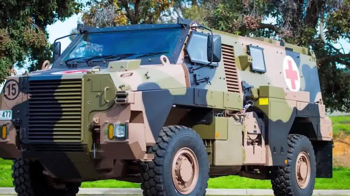 Thales Unveils New Bushmaster Multi Role 6 (MR6)