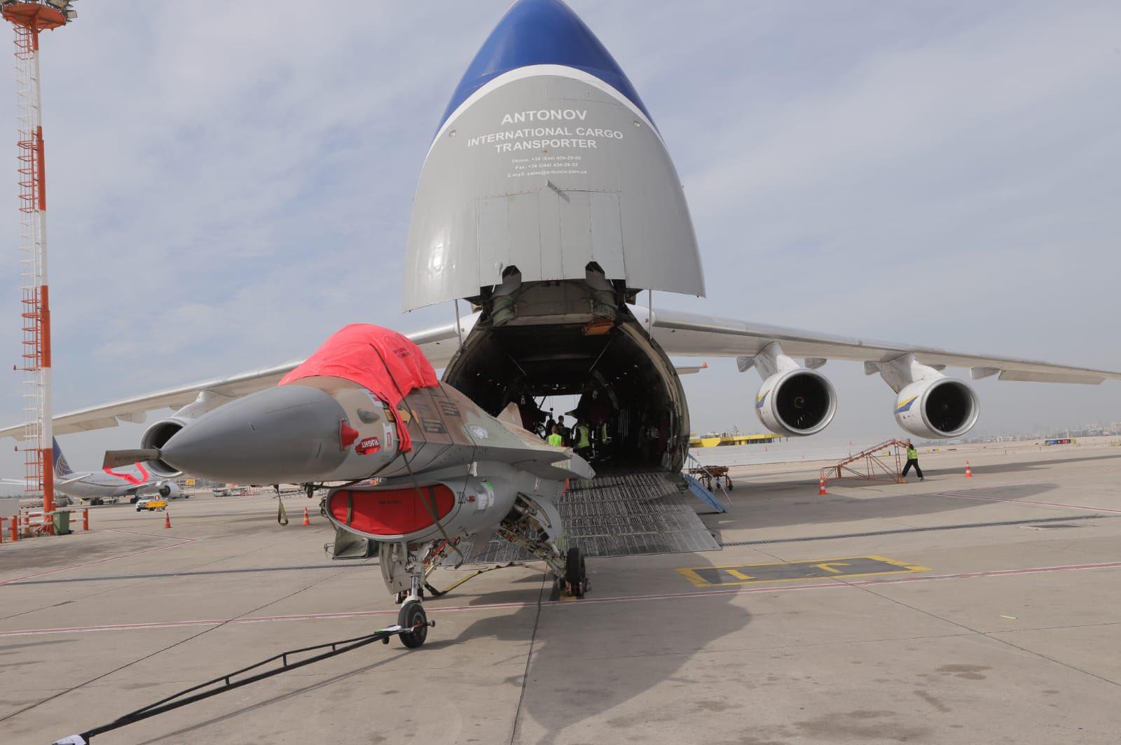 Canada's Top Aces Begins Receiving Surplus Israel Air Force F-16s