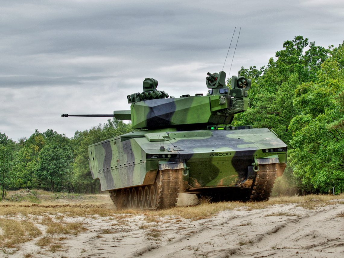 GDELS ASCOD 42 Infantry Fighting Vehicle