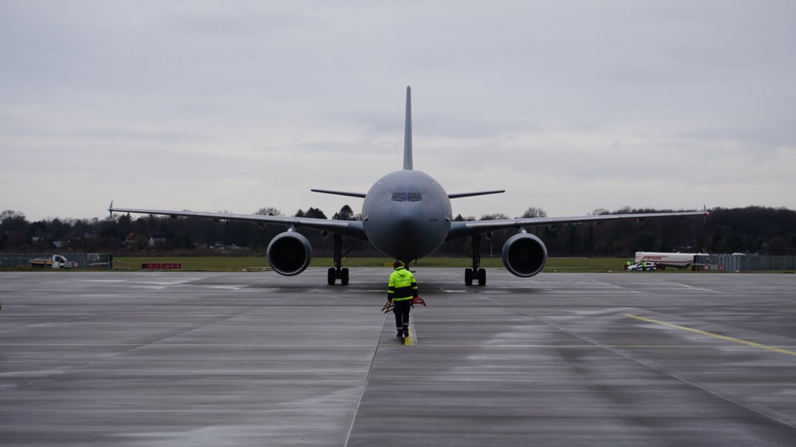 German Air Force Airbus A310 (MRTT) Multi-Role Tanker Transport