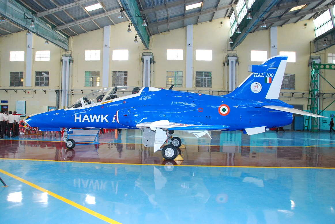 HAL Tests Smart Anti-Airfield Weapon (SAAW) from Indian Hawk-i Aircraft