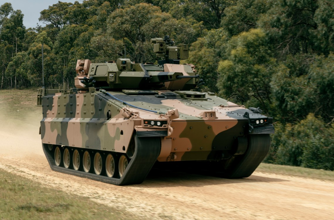 Hanwha Defense Fully Integrated Redback Infantry Fighting Vehicle in Australia