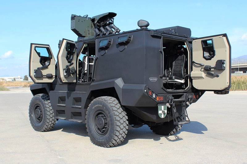HIZIR 4x4 Tactical Wheeled Armoured Vehicle