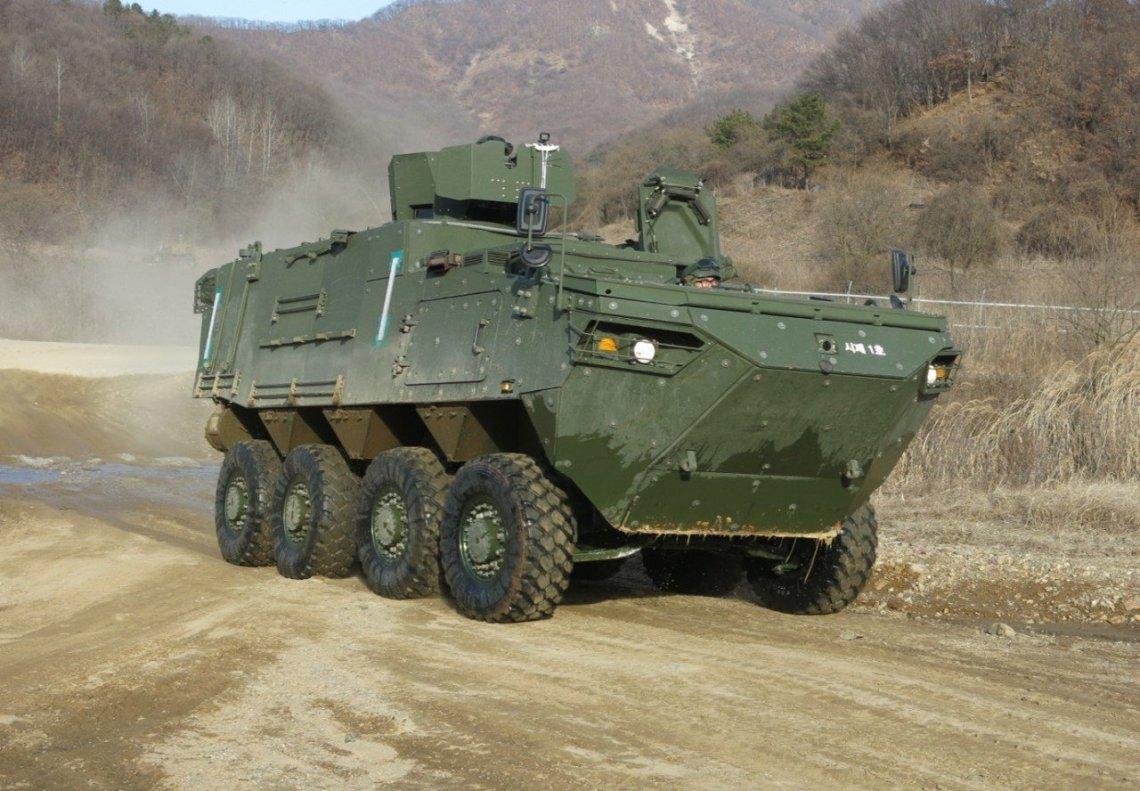 Hyundai Rotem Develops K808 KW2 Command Post