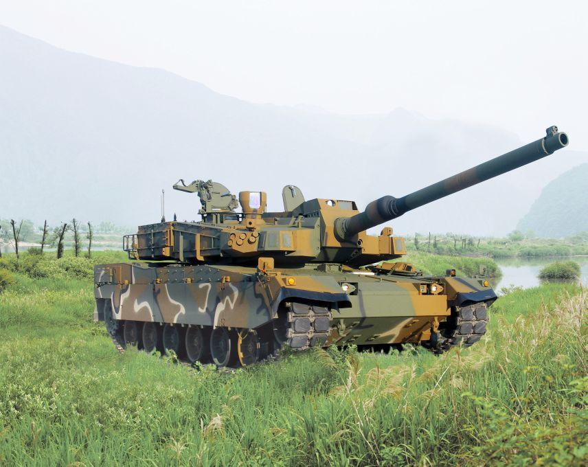Hyundai Rotem K2 Black Panther Main Battle Tanks