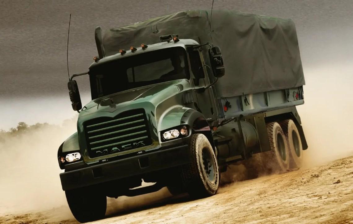 Mack Defense Granite Troop Carrier