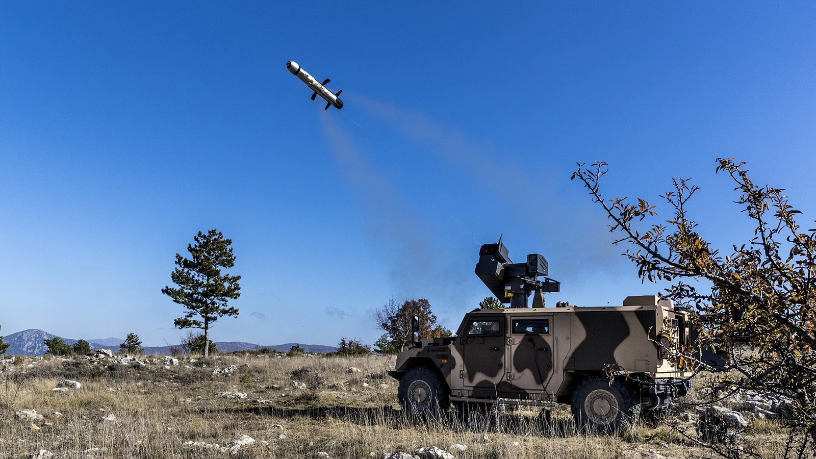 MBDA Conducts First Firing of MMP Anti-tank Guided Missile from Vehicle-Mounted IMPACT Turret