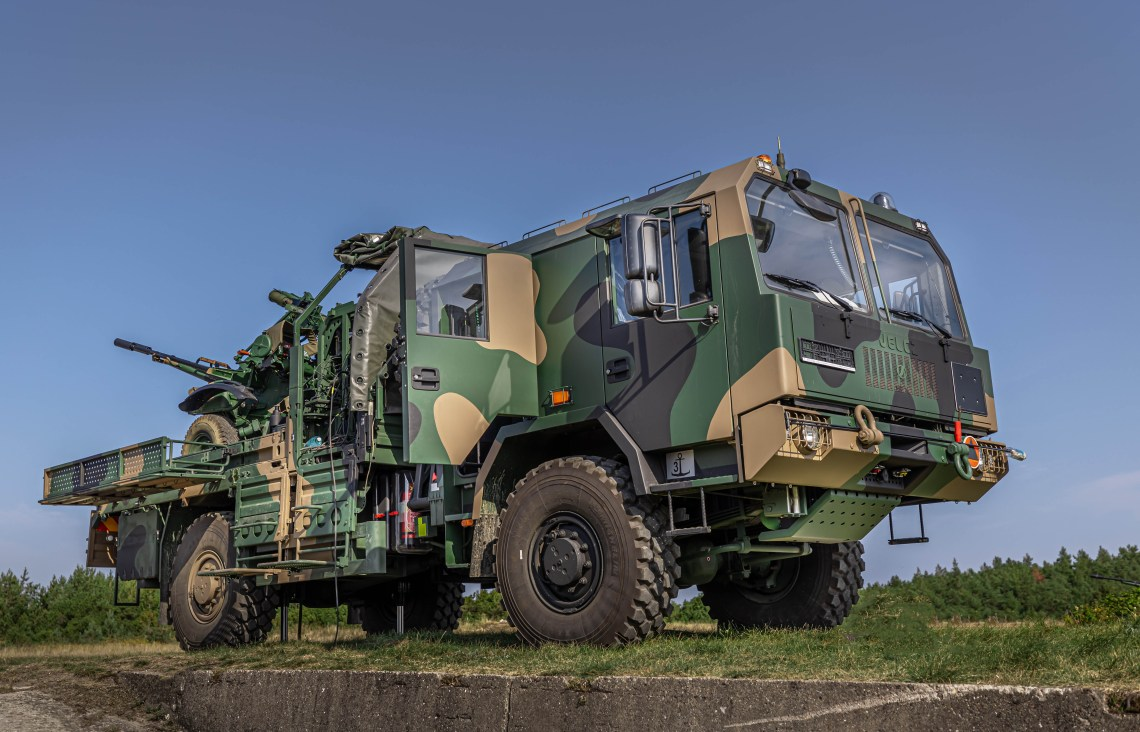 Polish Armed Forces Receives First PSR-A PILICA Anti-Aircraft Missile-Artillery System