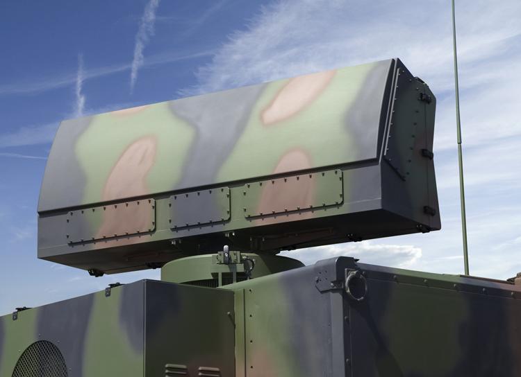Rheinmetall X-TAR3D three-dimensional tactical acquisition radar