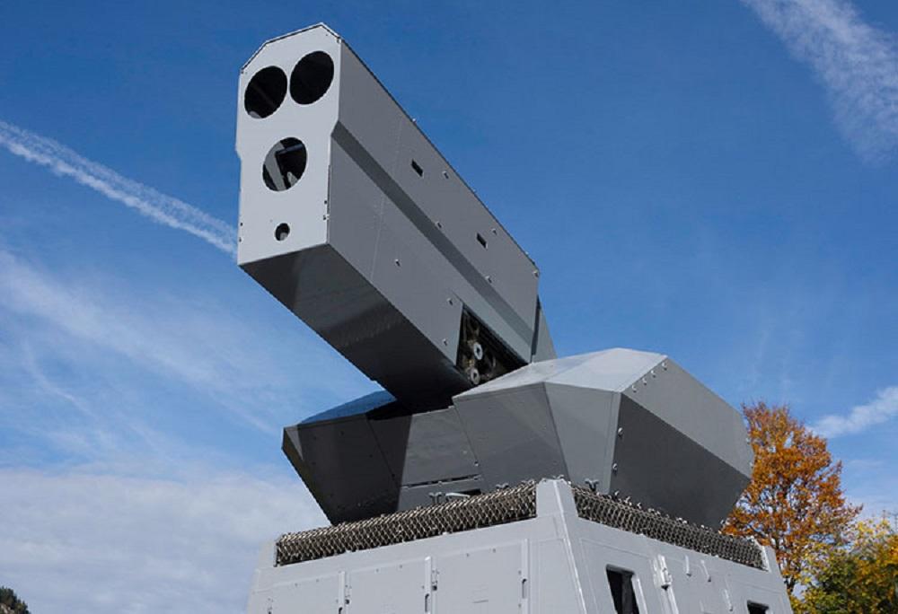 Rheinmetall High-energy Laser (HEL)