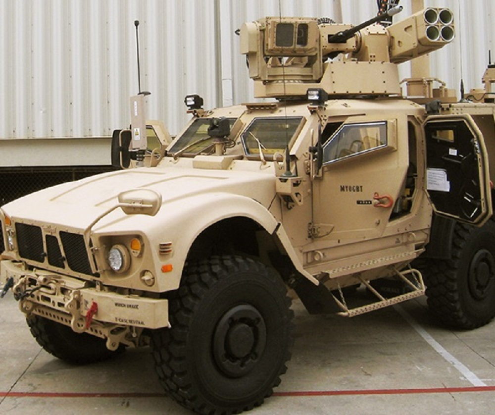 Moog's Reconfigurable Integrated-weapons Platform (RIwP®)