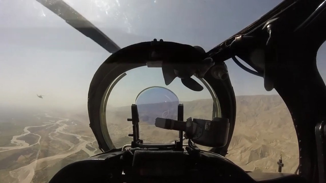 Russian 201st Military Base Mil Mi-24 helicopters
