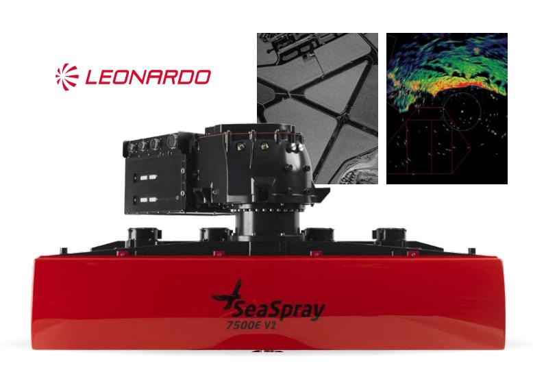 Seaspray 7500E V2 multi-mode radar