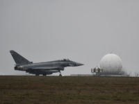 Spanish Air Force Eurofighters Joins NATO Enhanced Air Policing in Romania for the First Time