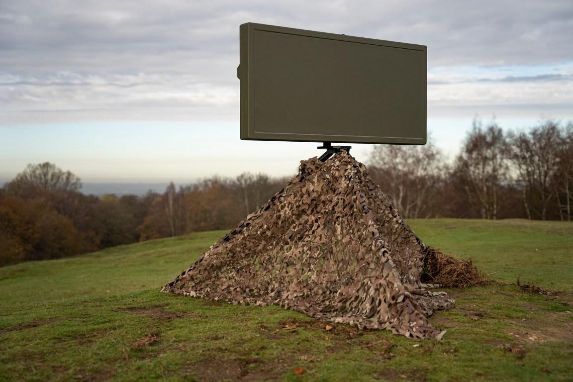 HENSOLDT UK SPEXER 600AESA Ground Based Surveillance Radar