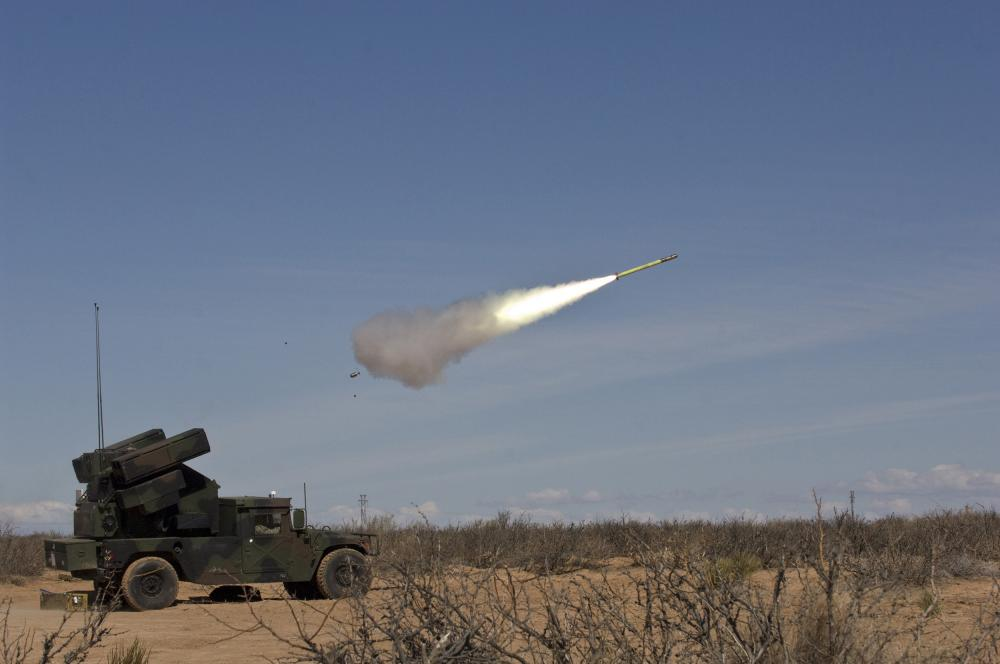 The Stinger missile is an integral component of a multilayered air defense system.