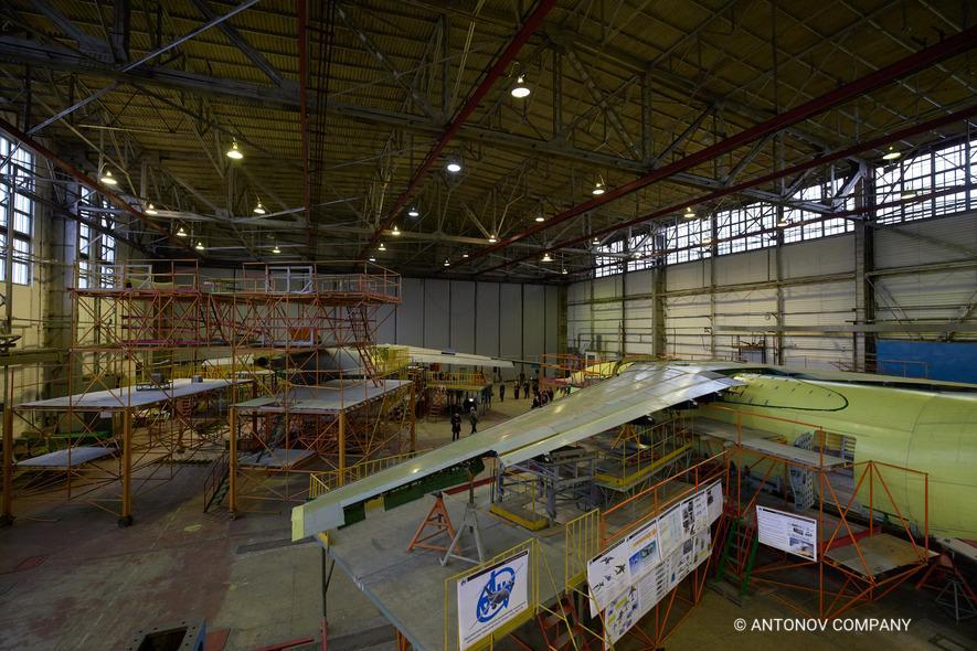 Ukrainian Ministry of Defence Signs Memorandum for Three Antonov An-178 Aircrafts