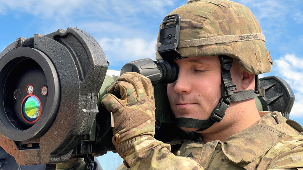 US Army Evaluating Rafael's SPIKE SR Anti-tank Guided Missile
