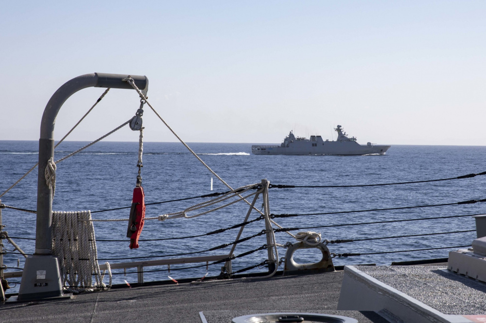 US Navy USS Porter Completes Exercise Atlas Handshake with Royal Moroccan Navy Allal Ben Abdellah