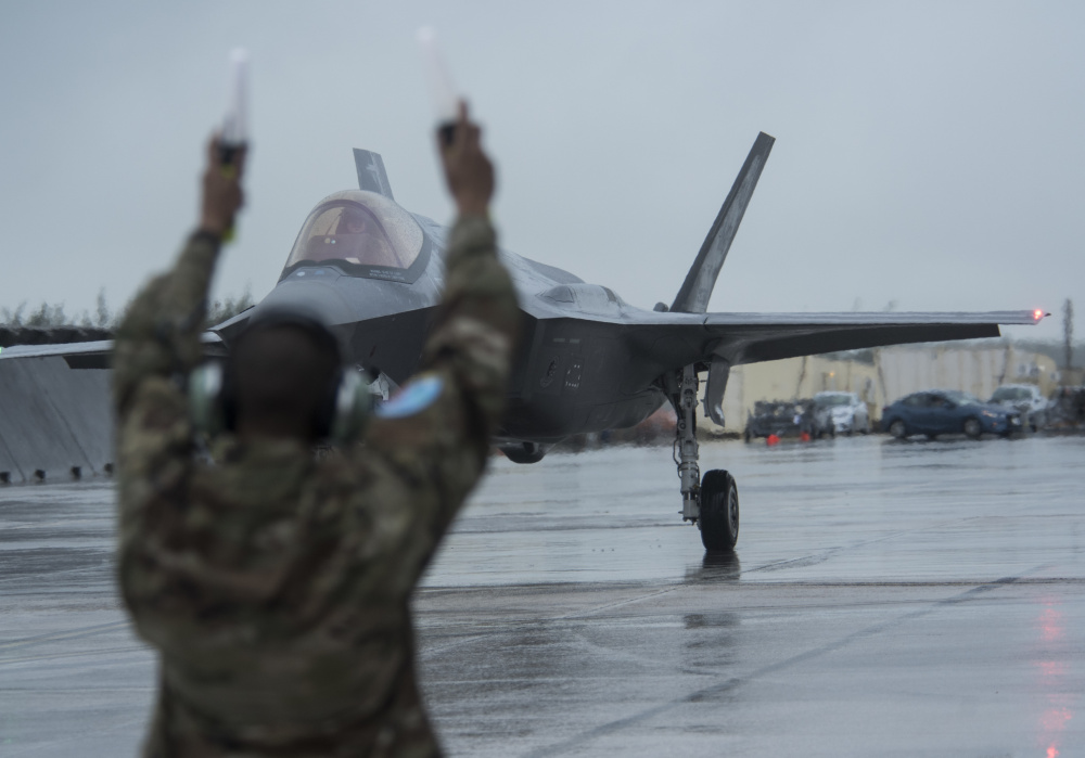 356th Fighter Squadron brings lightning to Cope North 21
