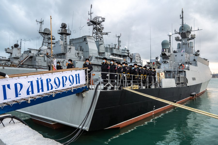 Russia's Black Sea Fleet Commissioned Buyan-M-Class Corvette Graivoron