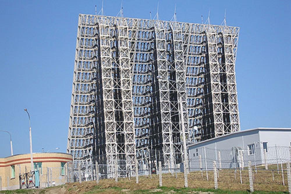 Voronezh-M early warning radar in Lekhtusi