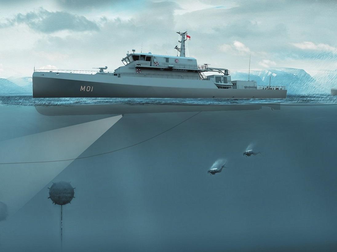 Abeking & Rasmussen Order Complete MAN 175D Hybrid-Propulsion Packages for Indonesian Navy Minehunter