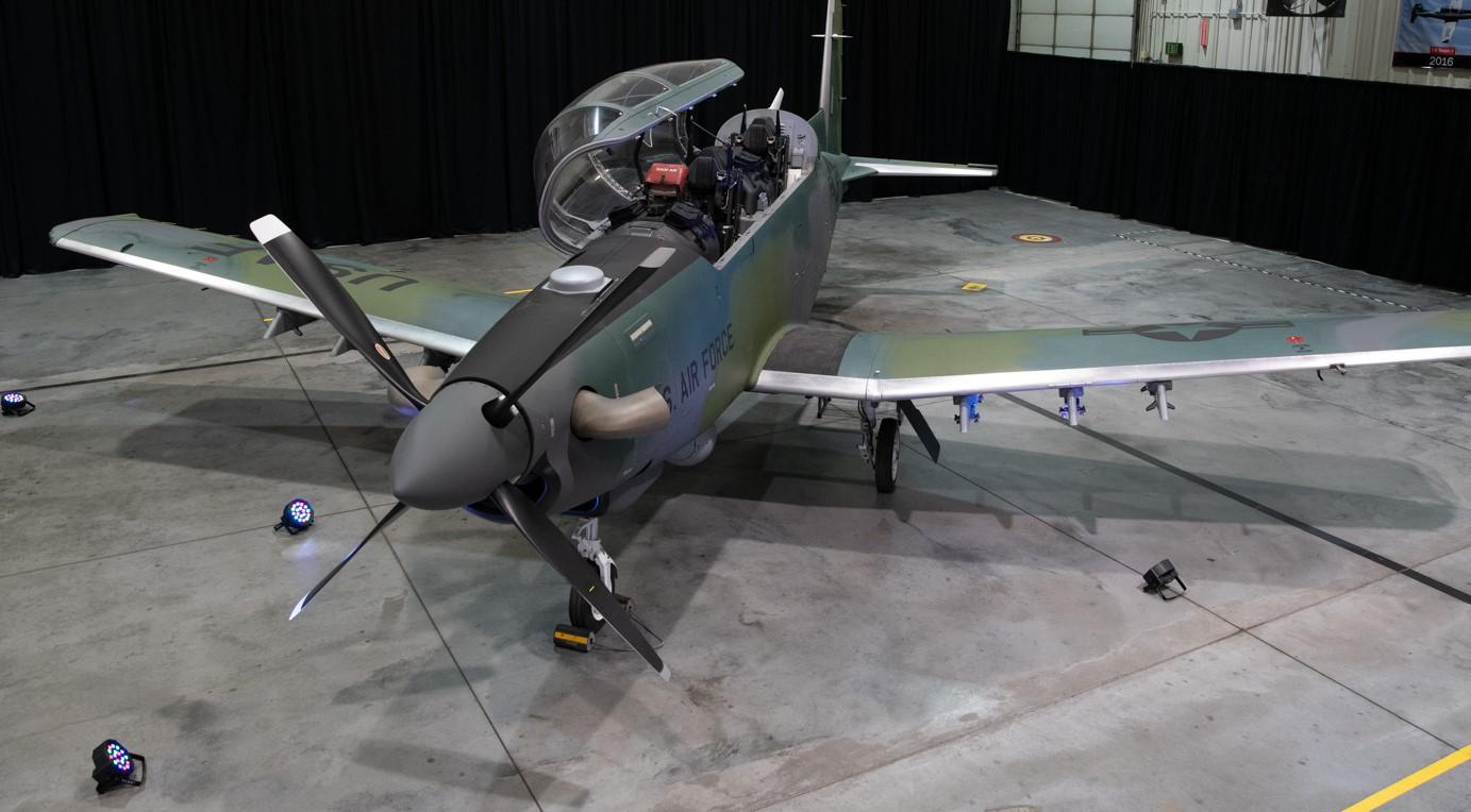 AT-6E Wolverine Light Attack Aircraft