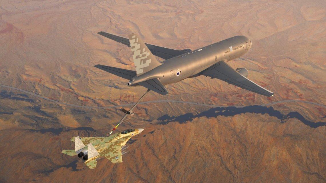 Boeing KC-46 In-flight RefuellingTankers