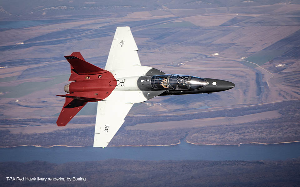Boeing T-7A Red Hawk Advanced Trainer