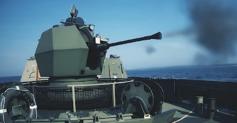 Bofors 40 Mk4 Naval Gun