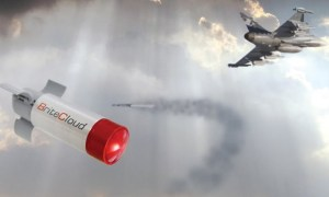First Live Launch of Leonardo's BriteCloud 218 Decoy from Airbus Target Drone is a Success