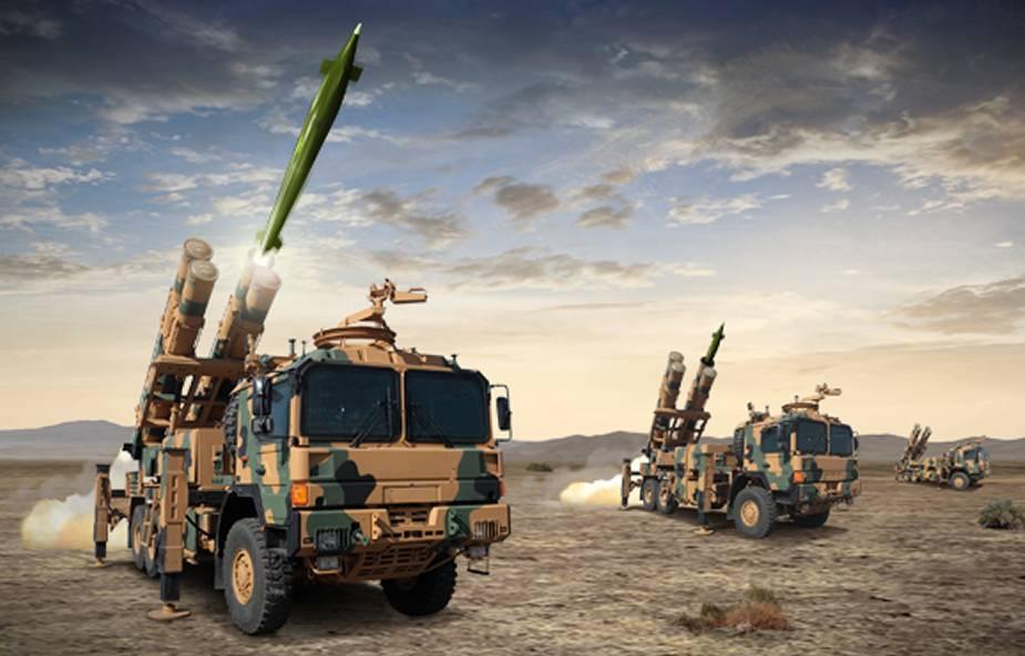 Turkish Roketsan Kaplan TRG-300 missile