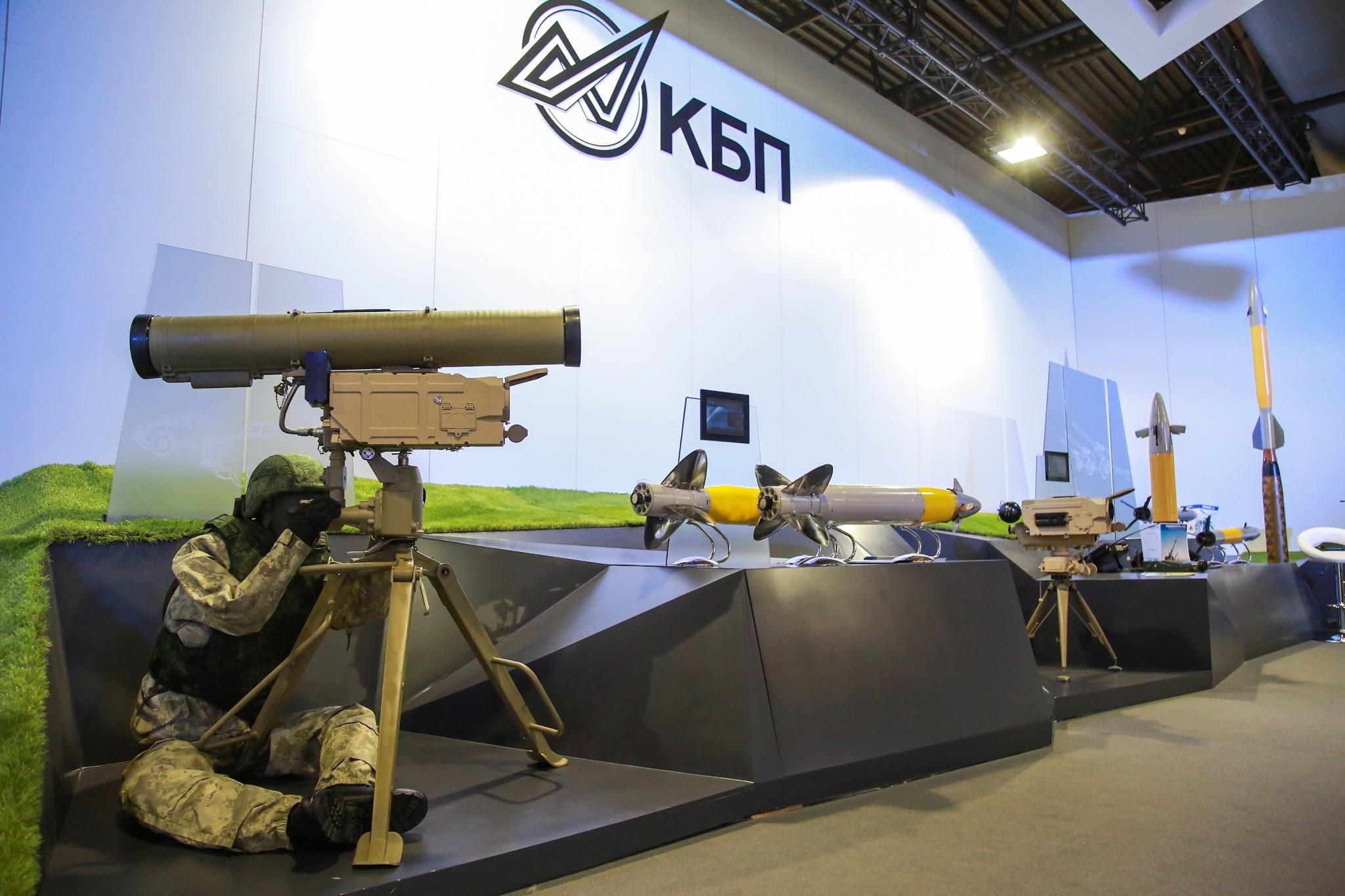 KBP (Konstruktorskoe Buro Priborostroeniya) Instrument Design Bureau