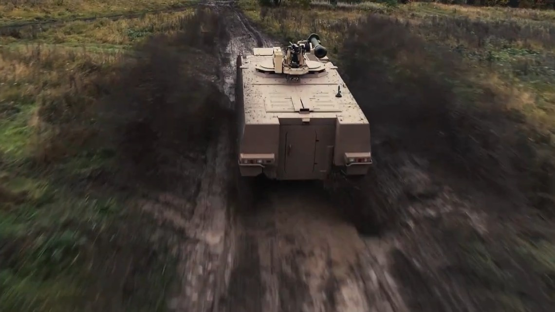Patria AMVXP 8x8 Armoured Personnel Carrier with Kongsberg Dual Protector