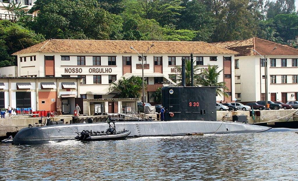 The Brazilian Navy Tupi Class Submarine