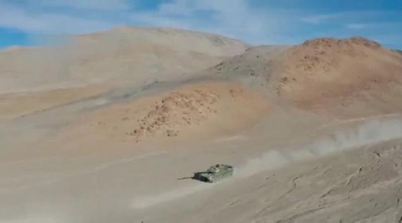 Chinese PLAGF Type 15 Light Tanks