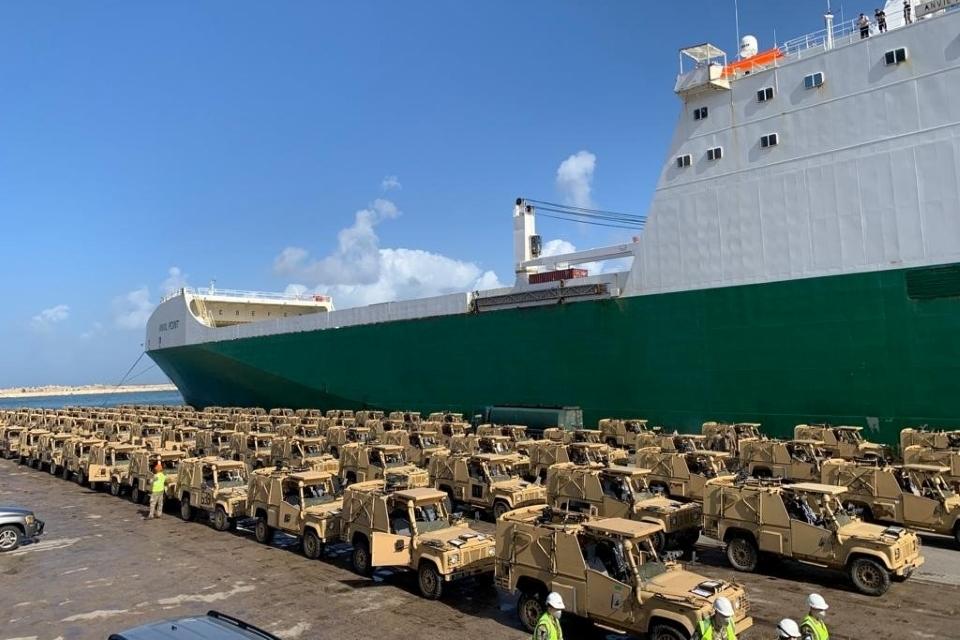 UK Donates 100 Armoured Patrol Vehicles to Stop Terrorists Crossing Into Lebanon
