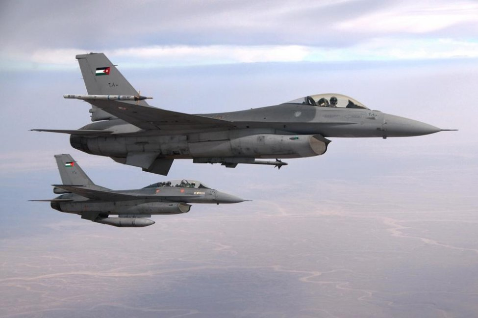 US State Department Approves $60 Million for F-16 Air Combat Training Centre to Jordan
