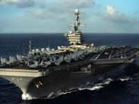 U.S. Navy USS John C. Stennis (CVN-74) Nimitz-class nuclear-powered supercarrier