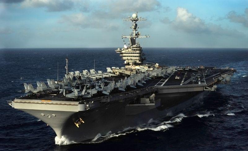 U.S. Navy USS John C. Stennis (CVN-74) Nimitz-class nuclear-powered supercarrier