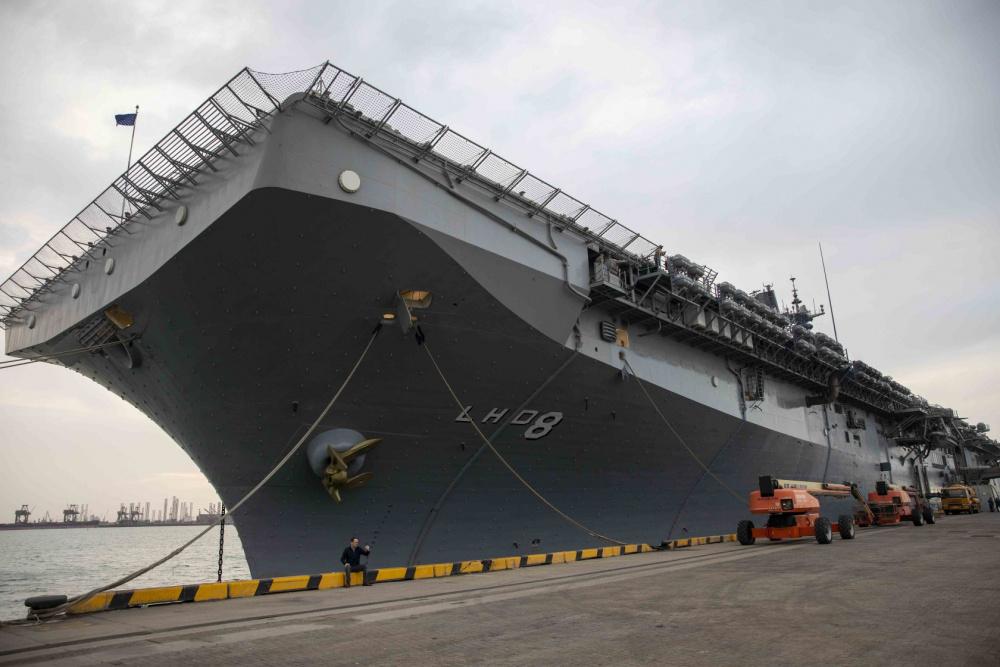 USS Makin Island (LHD 8) Conducts Port Visit in Bahrain