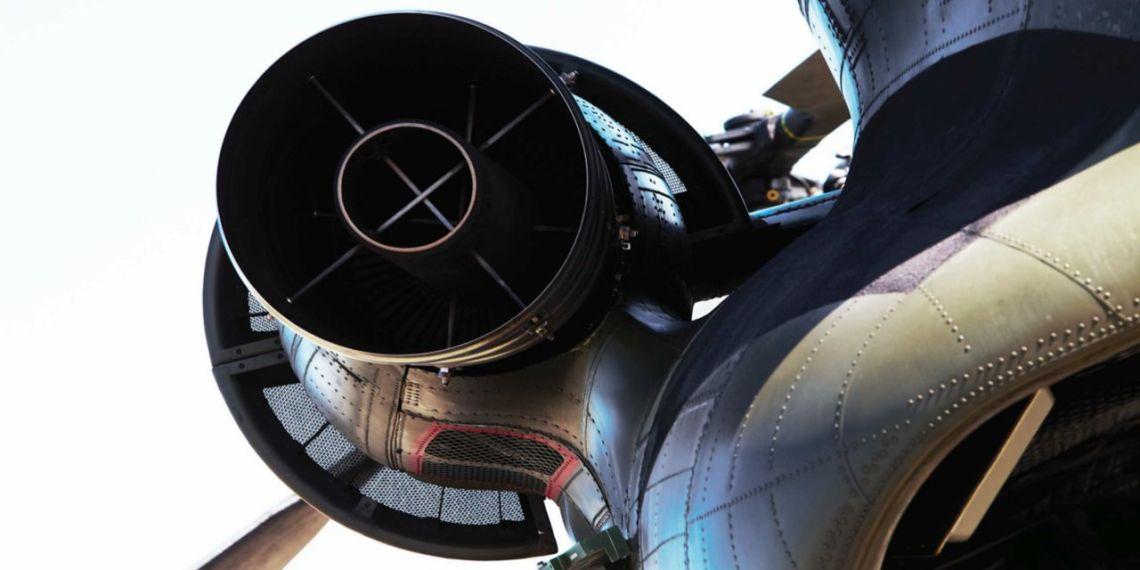 Honeywell T55 Turboshaft Engine