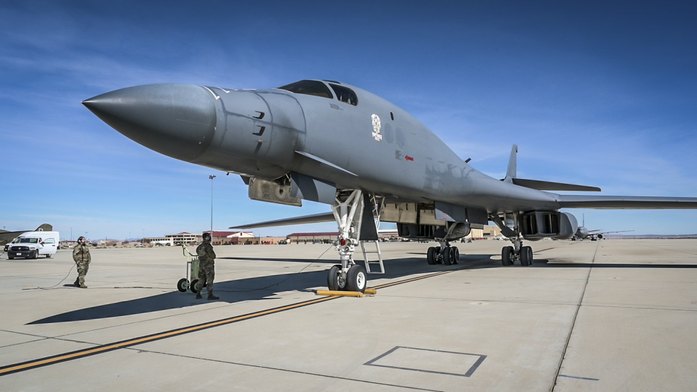 The retired Rockwell B-1 Lancer will become the Edwards Aircraft Ground Integration Lab, or EAGIL, a non-flyable aircraft that will be used as an integration lab for future upgrades.