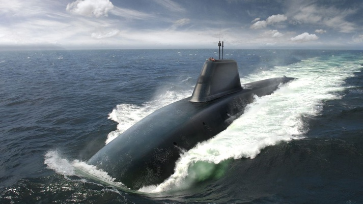 BAE Systems Applies Fly by Wire Aircraft to Dreadnought-class Submarine